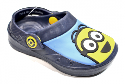 Minions Whymper Clog -  Navy