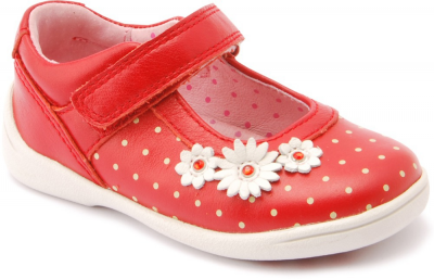 Start-rite Super Soft Daisy -  Red