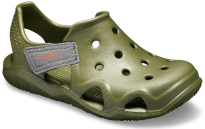 Crocs Swiftwater Wave K -  Army Green