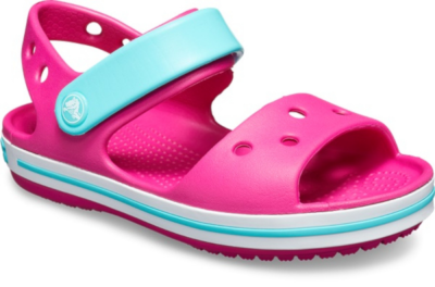 Crocs Crocband Sandal K -  Candy Pink/Pool