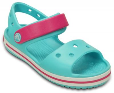 Crocs Crocband Sandal K -  Pool/Candy Pink