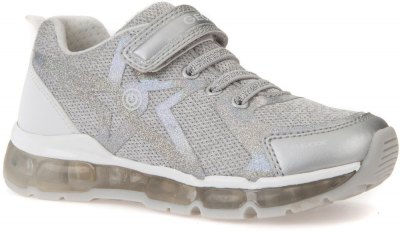 Geox J Android Girl J8245B -  C0434 Silver/White