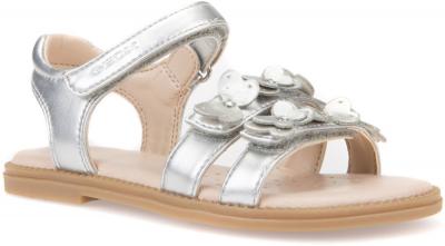 Geox J Sandal Karly Girl J8235I -  C1007 Silver
