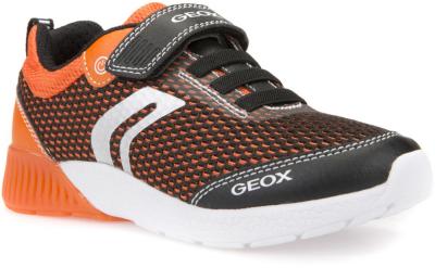 Geox J Sveth Boy B J826PB -  C0038 Black/Orange