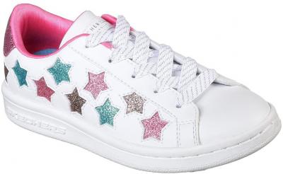 Skechers Omne LilStar Side -  White/Multi