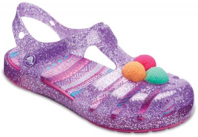 Crocs Isabella Novelty Sandal -  Purple