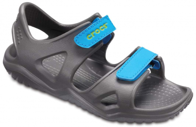 Crocs Swiftwater River Sandal -  Grey/Blue