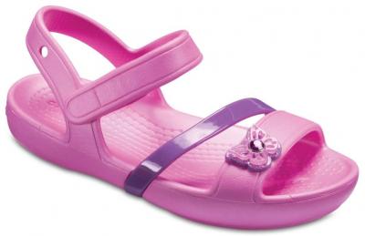 Crocs Kids Lina Sandal -  Pink