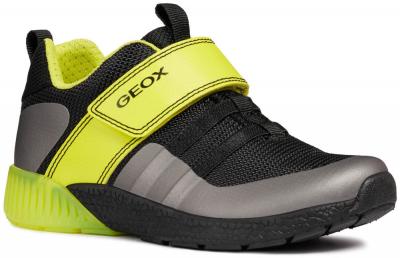 Geox J Sveth Boy J846PB -  C0802 Black/Lime