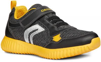 Geox J Waviness Boy J846TA -  C0054 Black/Yellow