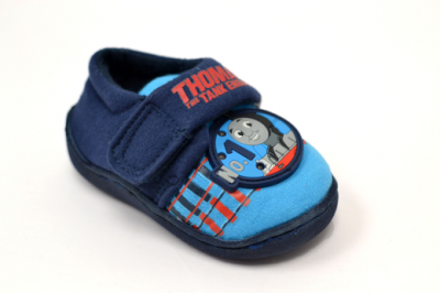 Thomas No1 Lights Slipper -  Blue