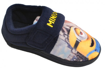 Minions Banbridge Slipper -  Navy/Yellow