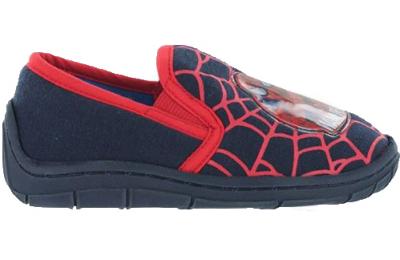 Spiderman Chenery Slipper -  Navy/Red