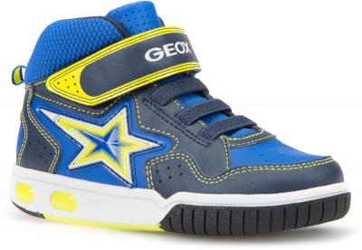 Geox J Gregg J7447A -  C0749 Navy/Lime
