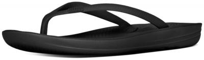 FitFlop IQushion Ergonomic Flipflop -  All Black