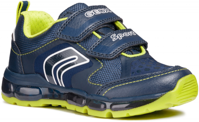 Geox J Android Boy J8444A -  C0749 Navy/Lime