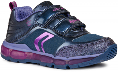 Geox J Android Girl J8445A -  C4269 Navy/Purple