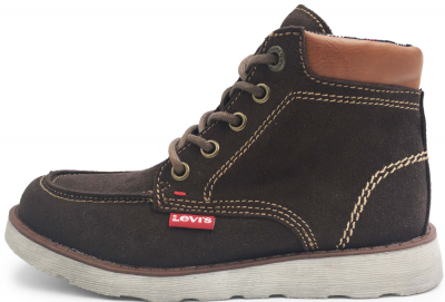 Levi Kids Indiana Leather Kids Boot -  Brown