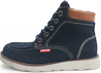 Levi Kids Indiana Leather Kids Boot -  Navy