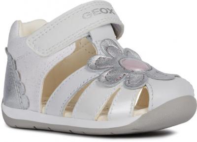 Geox B Each Girl B920AA -  C0007 White/Silver