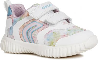 Geox B Waviness Girl B921XA -  C0653 White/Multi