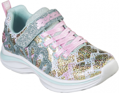 Skechers Double Dreams Mermaid Muse -  Aqua/Pink