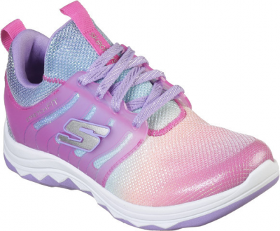 Skechers Diamond Runner Rainbow Dreams -  Neon Pink