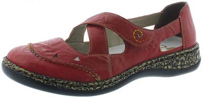 Rieker 46335 -  Rosso