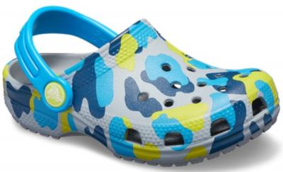Crocs Classic Seasonal Grphc Clog K -  Light Grey