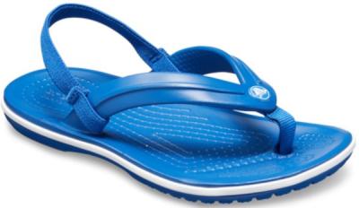 Crocs Crocband Strap Flip K -  Blue Jean