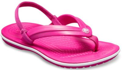 Crocs Crocband Strap Flip K -  Candy Pink