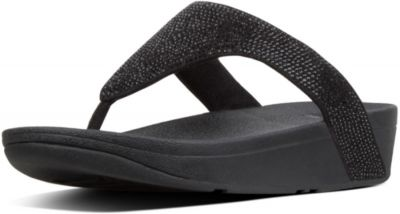 FitFlop Lottie Shimmer Crystal - Black
