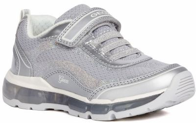 Geox J Android Girl J1545A - Silver