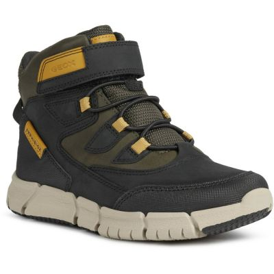 Geox J Flexyper Boy B Abx - Black/Yellow