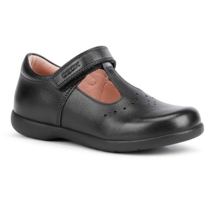 Geox J Naimara Girl J16FHB - Black Leather