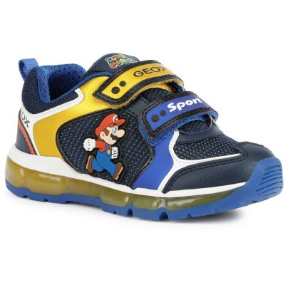 Geox J Android Boy - Royal/Yellow