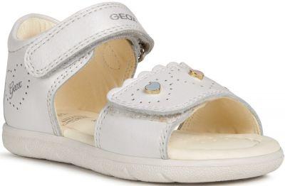Geox B Sandal Alul Girl B021YA - C1000 White