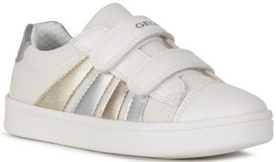 Geox J DJRock Girl J154MB - White