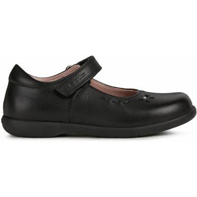 Geox J Naimara Girl J16FHA - Black Leather