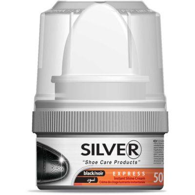 Silver Instant Shine Shoe Cream