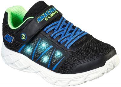 Skechers Dynamic Flash - Black/Lime