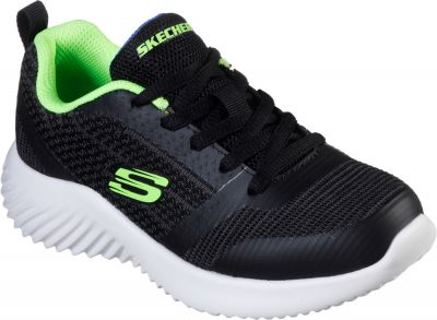 Skechers Bounder - Black/Lime