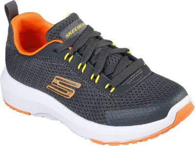 Skechers Dynamic Tread Nitrode - Charcoal/Orange