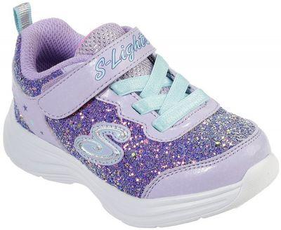 Skechers Glimmer Kicks Glitter N'Glow (N) - Lavender/Aqua