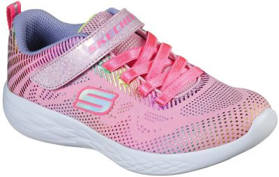 Skechers Go Run 600 Shimmer Speeder - Light Pink/Multi
