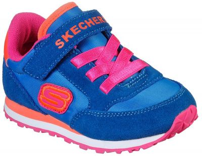 Skechers Retro Sneaks  - Blue/Orange