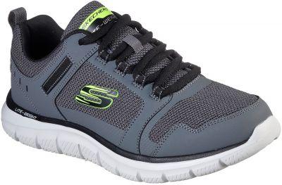 Skechers Track Knockhill - Charcoal/Black