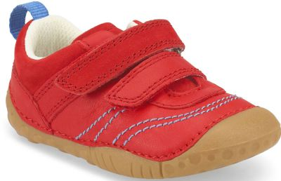 Start-Rite Baby Leo - Red Leather