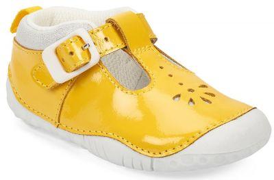 Start-Rite Baby Bubble - Yellow Patent