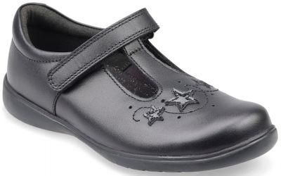 Start-Rite Star Jump - Black Leather